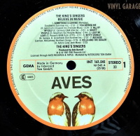 Aves Records & Tapes LP INT 161.545 Side 1 label