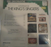 EMI/HMV Greensleeve LP ESD 7103 Back cover