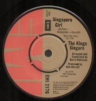EMI - 45 rpm demo single labeled on B side- EMI 2176