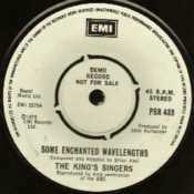 EMI - 45 rpm demo single - PSR 433